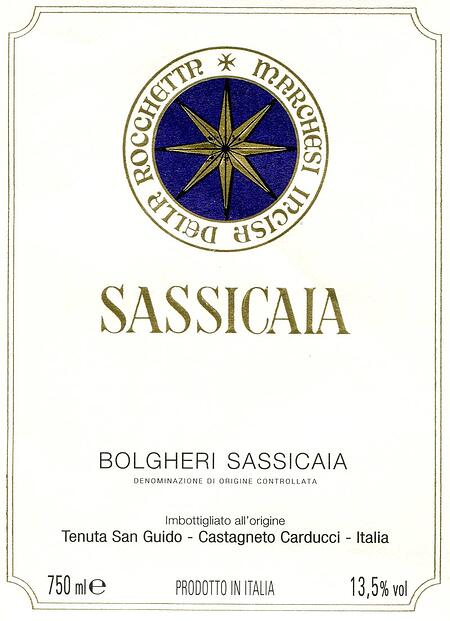 Sassicaia-Label